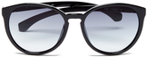 Calvin Klein Jeans Women's Round Sunglasses Black