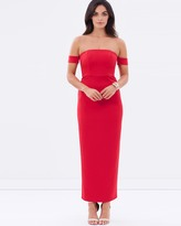 Lumier Keep Control Off Shoulder Maxi