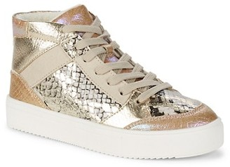 Steve Madden Girl's Mixed Media Sneakers