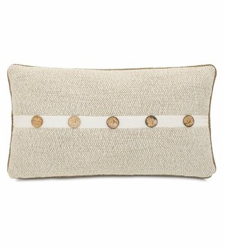 Silas Eastern Accents Corfis Vanilla Bolster Pillow Eastern Accents