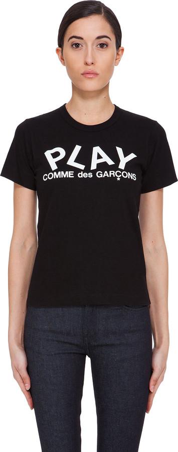 Comme des Garcons Black Logo Print T-Shirt