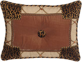 "Sweet Dreams Casablanca Animal-Print Pieced Pillow, 13"" x 17"""