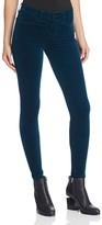 J Brand Skinny Velvet Jeans in Emerald