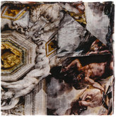 Faliero Sarti frayed edges scarf