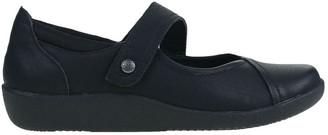 Planet Shoes Guam Black Flat Shoe