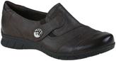 Earthies Dark Brown Leather Naya Loafer