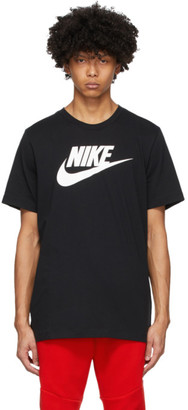 Nike Black Icon Futura T-Shirt