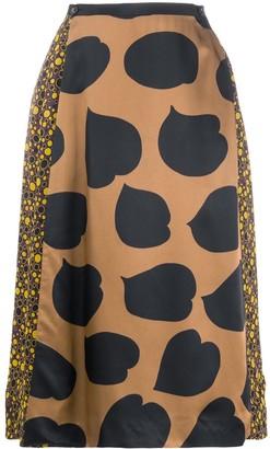 Marni Multi-Print Skirt