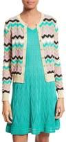 M Missoni Women's Ombre Zigzag Stripe Cardigan