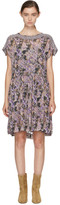 Etoile Isabel Marant Purple Jalesia Dress