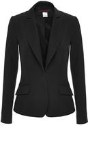 Martin Grant Black Silk Tailored Jacket