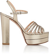 "Valentino Women's ""Love Latch"" Platform Sandals"