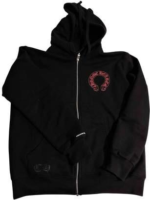Chrome Hearts Black Cotton Knitwear for Women
