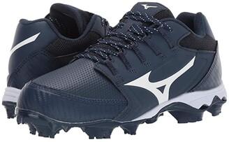 Mizuno 9-Spike Advanced Finch Elite 4 (Navy/White) Women's Shoes