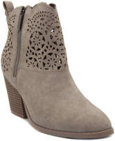 London Fog Taupe Perforated Boot