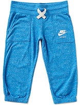 Nike Big Girls 7-16 Gym Vintage Capri Leggings