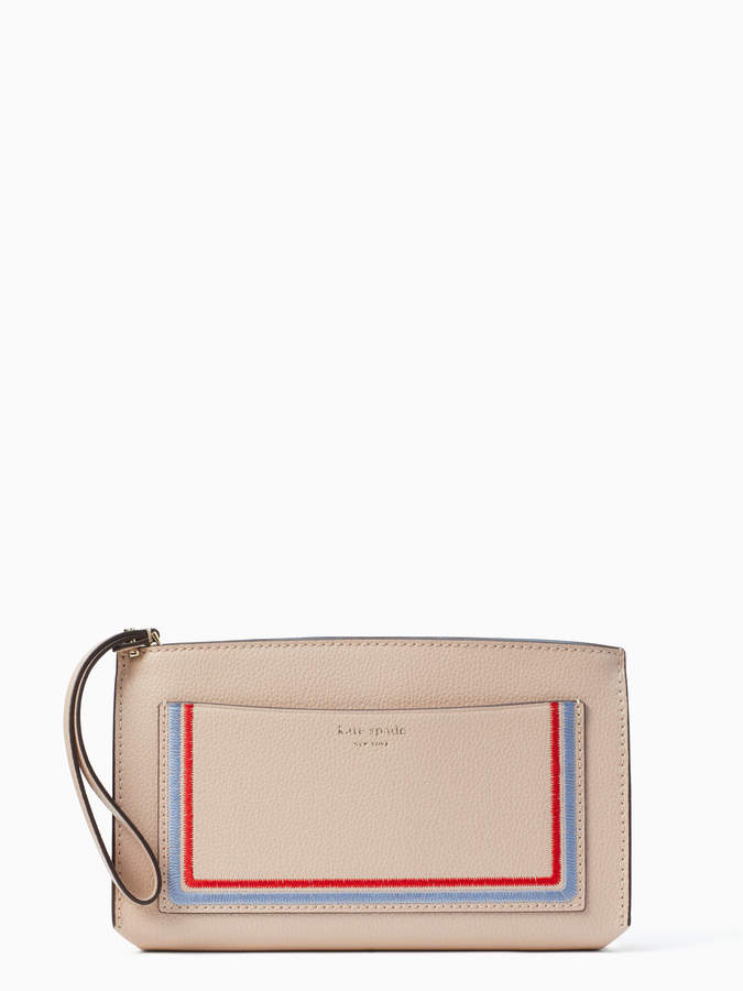 Kate Spade eva embroidered wallet clutch