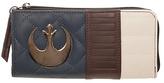 Bioworld Navy & Brown Han Solo Zip Wallet