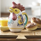 Williams-Sonoma Williams Sonoma Hand Painted Chicken Jug