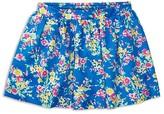 Ralph Lauren Girls' Floral Print Twill Skirt - Sizes 2-6X