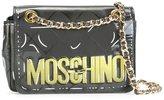 Moschino degradé 'Letters' shoulder bag