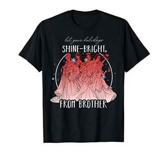 Disney Princesses Shine Bright Brother Graphic T-Shirt
