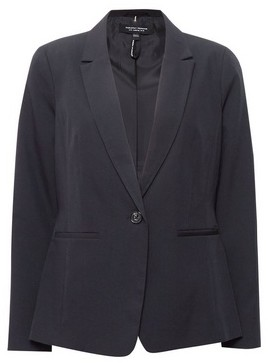 Dorothy Perkins Womens Black Tab Detail Suit Jacket, Black