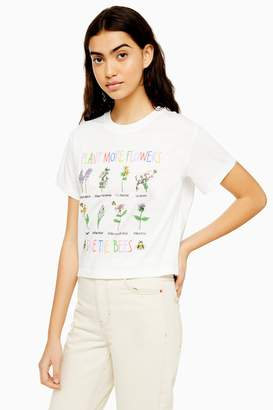 Womens 'Save The Bees' T-Shirt By Tee & Cake - White