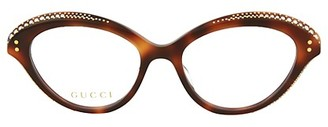 Gucci 51MM Cat Eye Optical Glasses