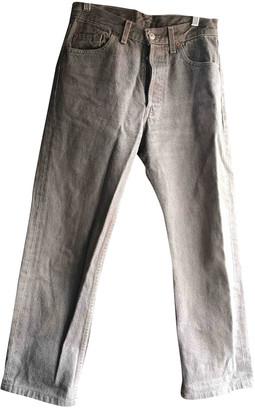 Levi's 501 Beige Denim - Jeans Jeans