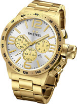 Tw Steel Cb83 Canteen Yellow Gold Pvd-plated Stainless Steek Chronograph Watch