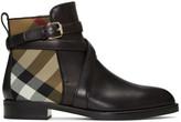 Burberry Black Vaughan Boots