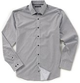 Vince Camuto Slim-Fit Geo Print Long-Sleeve Woven Shirt