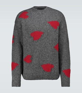 Stella McCartney Heart intarsia knitted sweater