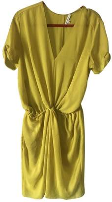 Carven Yellow Synthetic Dresses