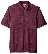 Haggar Men's Big-Tall Short Sleeve Space Dye Knit Polo