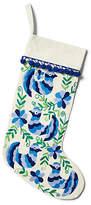 """One Kings Lane 17"""" Amirah Stocking - Blue/Green"""