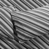 CB2 Set Of 2 Bias Black And White King Pillowcases