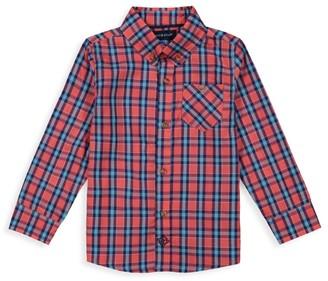 Andy & Evan Boy's Plaid Shirt