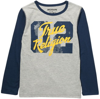 True Religion Long Sleeve Varsity T-Shirt