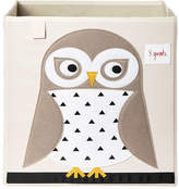 3 Sprouts Owl Polyester Storage Box