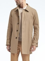 Banana Republic Water-Repellent Mac Jacket