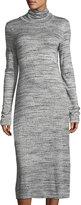 Allen Allen Turtleneck Long-Sleeve Knit Dress