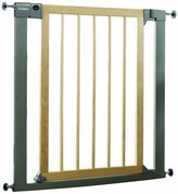 Lindam Sure Shut Deco Safety Gate - Natural Wood & Metal