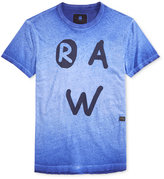 G Star Men's Eshje Ombré Graphic-Print Logo T-Shirt