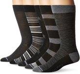 Nautica Men's Fashion 5 Pack Dress Sock