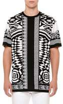 Versace Optical Illusion-Graphic T-Shirt