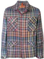 Missoni plaid long sleeve shirt