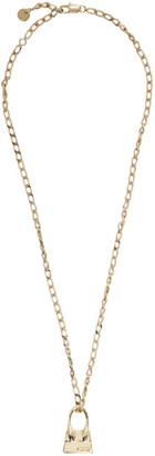 Jacquemus Gold Le Collier Chiquito Necklace