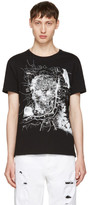 Alexander McQueen Black London Map T-Shirt
